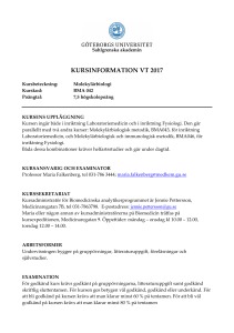 kursinformation vt 2017