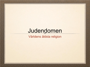 Judendomen 4-6 - Mattias SO