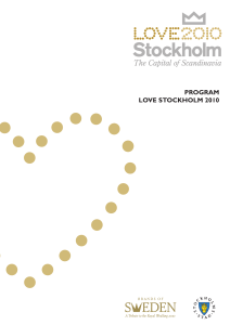 program love stockholm 2010