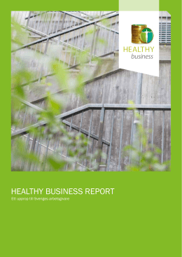 healthy business report