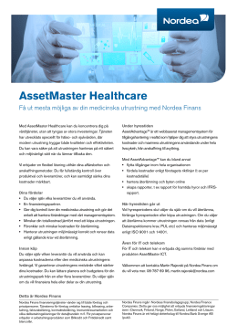 AssetMaster Healthcare