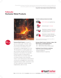 Fallstudie: Rochester Metal Products