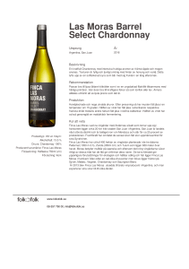 Las Moras Barrel Select Chardonnay