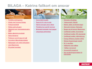 Slide 1 - Katrin Material Bank
