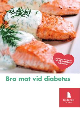 bra mat för diabetiker