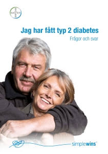 Jag har fått typ 2 diabetes - Ascensia Diabetes Care Sweden
