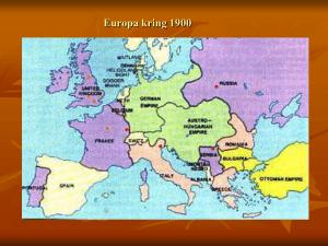 Karta Europa Andra Varldskriget.Forsta Varldskriget 1914