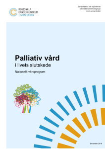 Palliativ vård - Svenska palliativregistret