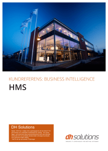 KUNDREFERENS: BUSINESS INTELLIGENCE