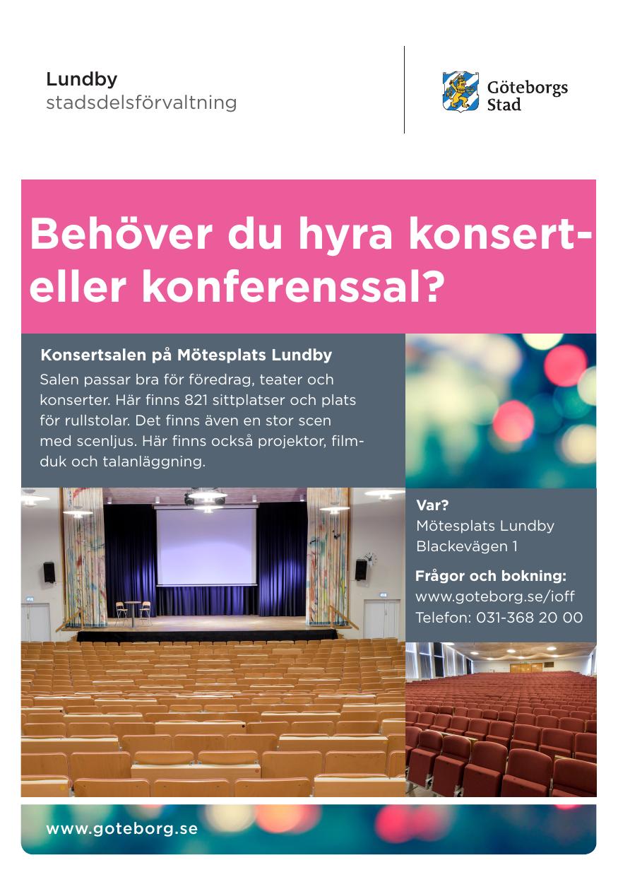 Trffpunkter fr seniorer i Lundby - Startsida | Facebook