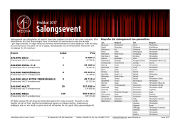 Salongsevent - SF
