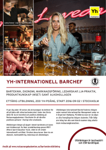 yh-internationell barchef