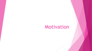 Motivation - WordPress.com