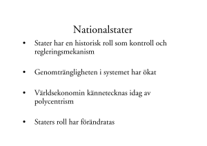 Nationalstater