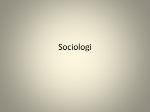 Sociologi - WordPress.com