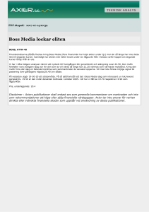 Boss Media lockar eliten
