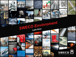 sweco powerpoint