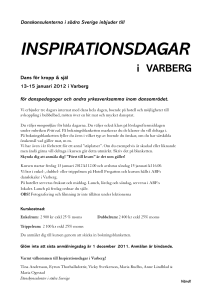 inspirationsdagar