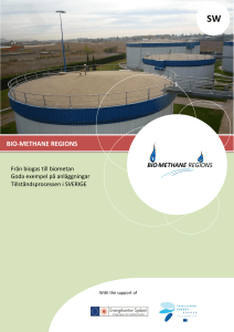 Introduction to Production of Biomethane from Biogas