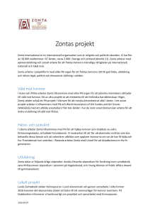 Zontas projekt - Zonta International