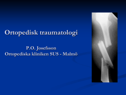 Ortopediskt trauma