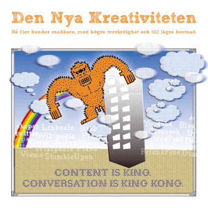 Den Nya Kreativiteten - Pyramid Communication