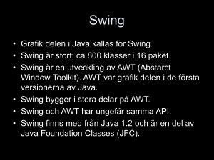 Grafik med Java