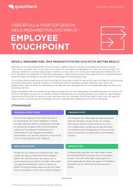 employee touchpoint