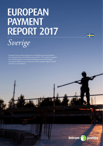 EUROPEAN PAYMENT REPORT 2017