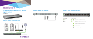 NETGEAR ProSAFE Web Managed (Plus)16