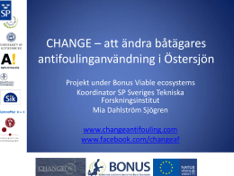Marine Antifouling - CHANGE Anti Fouling