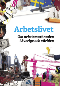Arbetslivet - Arena Skolinformation