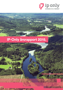 306IPO Årsrapport maj-16.indd - IP-Only
