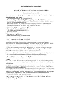 anastrella 28 biverkningar