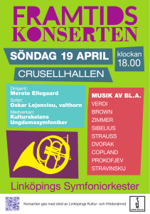 söndag 19 april - Linköpings Symfoniorkester