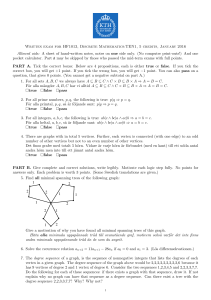 Written exam for HF1013, Discrete Mathematics:TEN1, 5