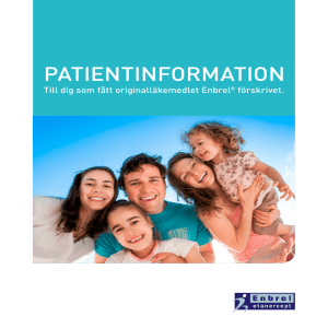 patientinformation - Medicininstruktioner