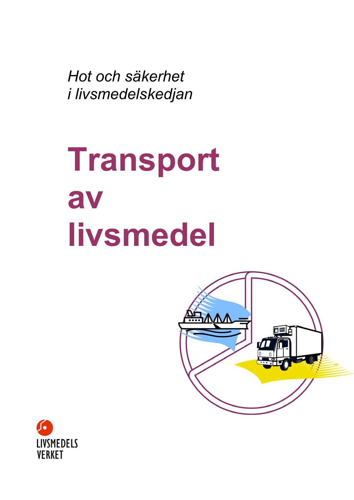 transport av livsmedel