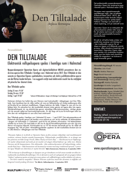 den tilltalade - Operation Opera