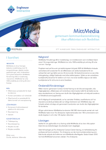 MittMedia - Enghouse Interactive