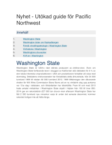 Washington State - Washington Wine Commission