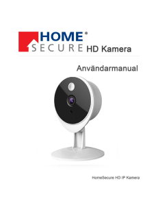 se manual - HomeAlarm.se