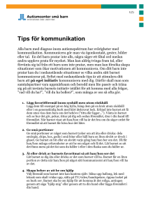 Tips för kommunikation