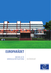 europarådet - Council of Europe Publishing