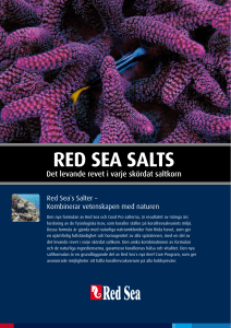 Red Sea Salt Red Sea Coral Pro Salt