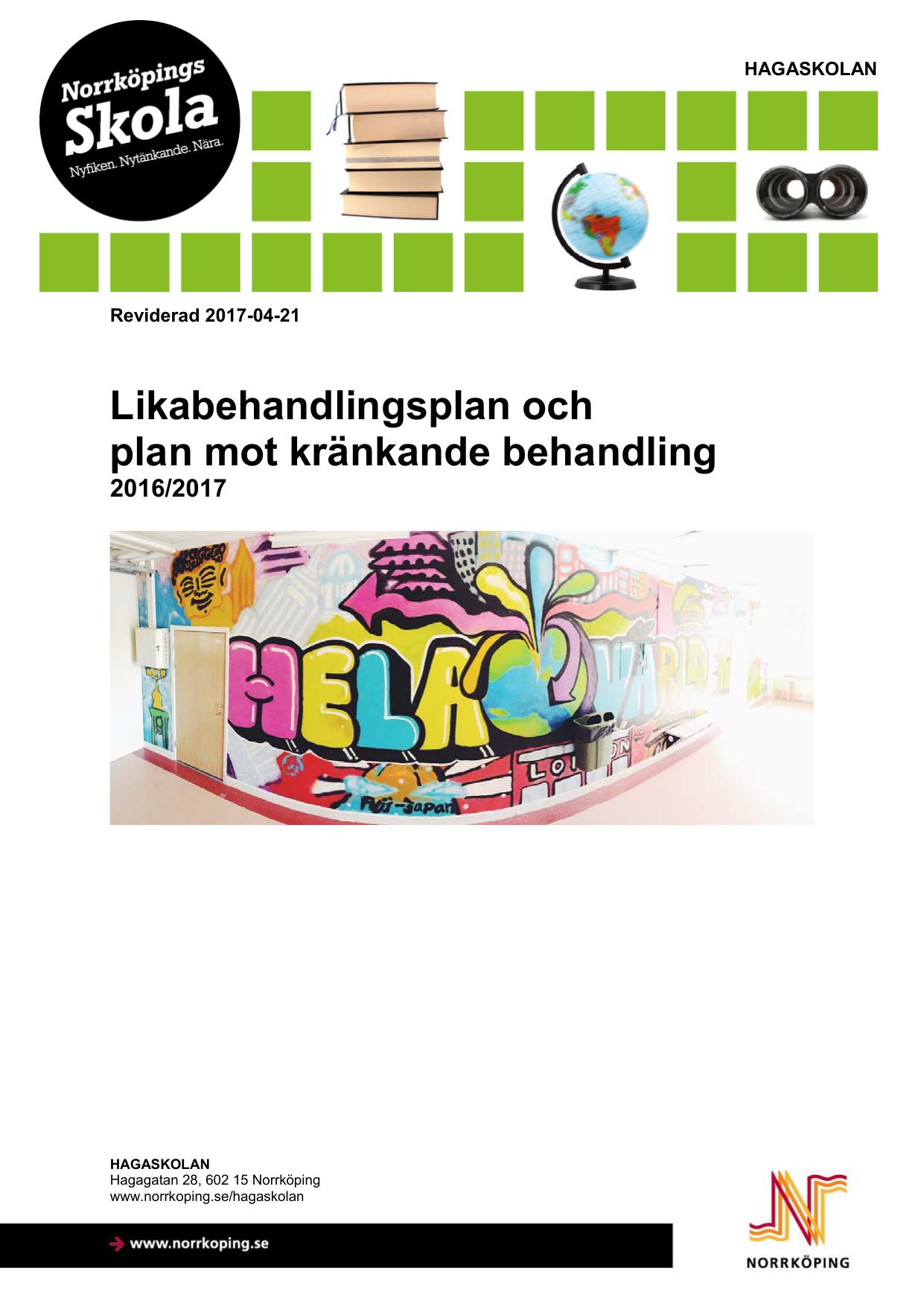 skolstart 2016 norrköping