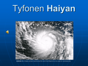 Tyfonen Haiyan - WordPress.com