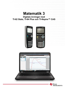 Matematik 3 - TI Education