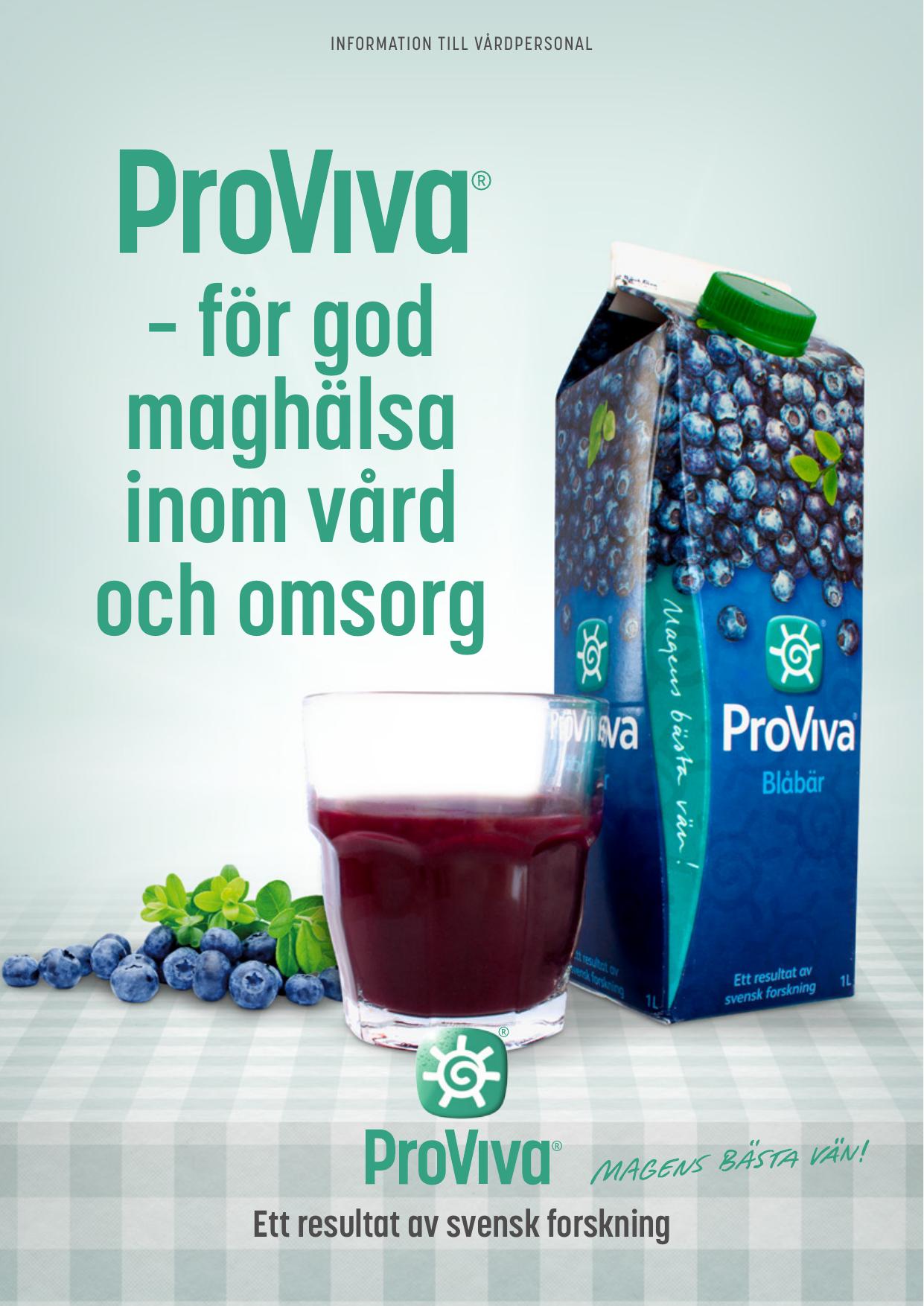 proviva blåbär diarre
