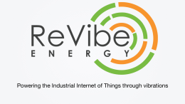 Powering the Industrial Internet of Things through vibrations